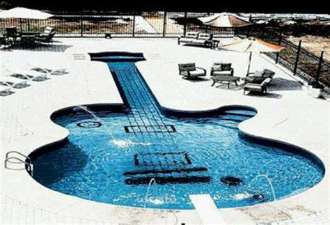 guitar pool alot of everything pinterest