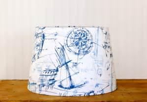 Nautical Decor For Nursery Drum Lamp Shade Lampshades Tapered Nautical Schooner