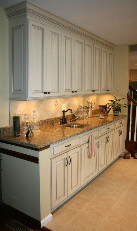 painted and glazed kitchen cabinets pinterest the world s catalog of ideas