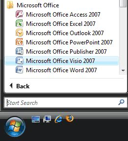 ms office visio 2007 powerpoint 2007 and visio