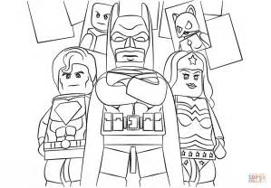Lego Superheroes Coloring Pages lego heroes coloring page free printable coloring