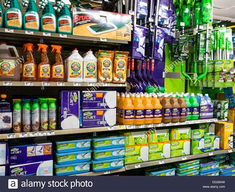 home depot cleaning products store display nyc stock