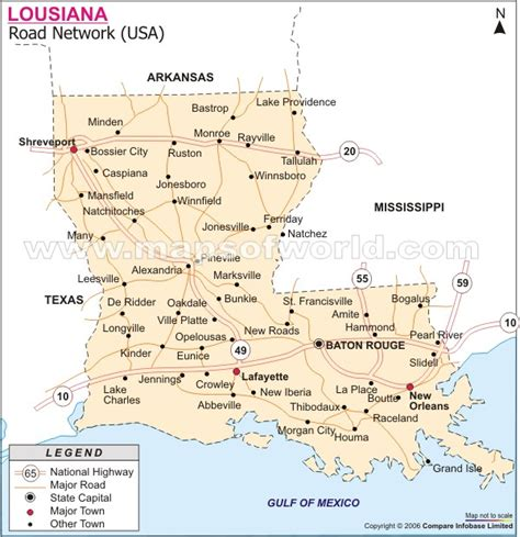 road map of louisiana louisiana map and louisiana satellite images