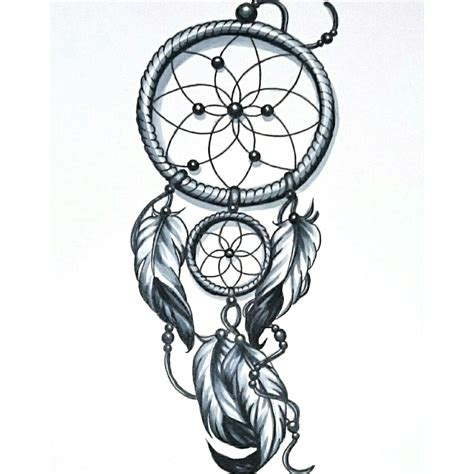 dreamcatcher tattoo design skinevolutiontattoo konomi konomiangel design