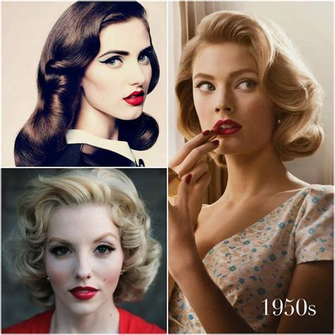 updos for medium length hair from the 1950 s vintage hairstyles that match your vintage dress hair