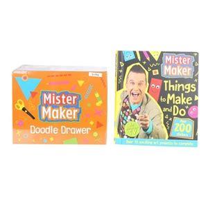 mr maker doodle drawer mister maker doodle drawer craft book buyers note
