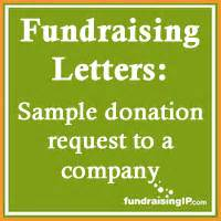 Charity Letter Companies sample donation request letter to a company