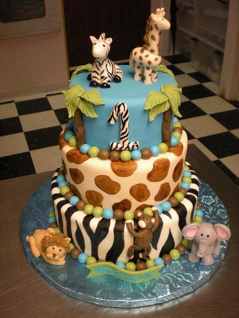 jungle themed birthday cake 1000 ideas about jungle theme cakes on pinterest safari