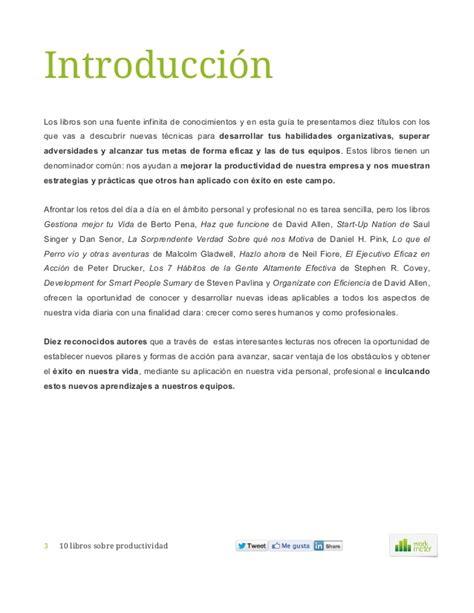 libro europa una introduccin 10 libros sobre productividad workmeter