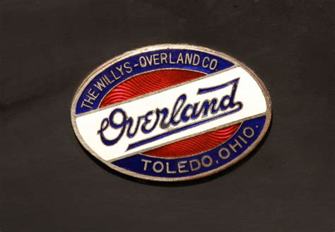 willys overland logo overland cartype