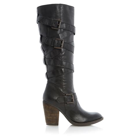 steve madden knee high boots steve madden renegaid wrap around heeled knee high
