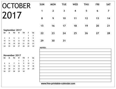Calendar 2017 October 9 157 Best Images About Free Printable 2017 Calendars On