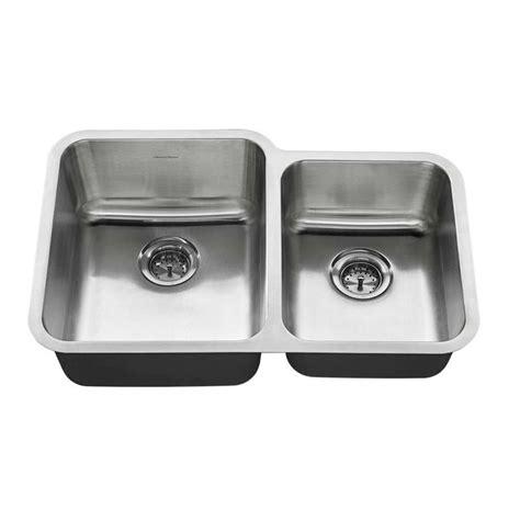 shop american standard 20 gauge double basin drop in or shop american standard 20 in x 31 in stainless steel