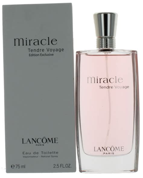 Lancome Tendre Voyage miracle tendre voyage by lancome for edt perfume