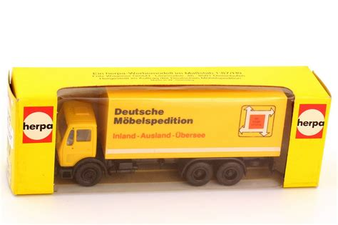 Auto K Ng Ag by 1 87 Mercedes Ng Koffer Lkw Deutsche M 246 Belspedition