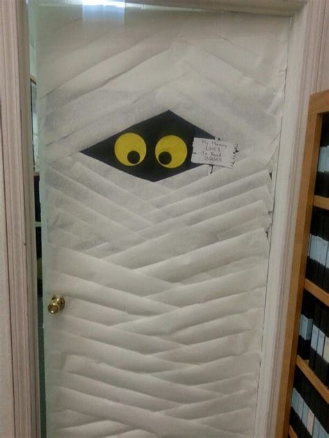 door mummy bulletin board