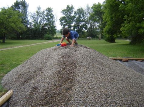 5 Yards Of Sand A Gravel Play Area