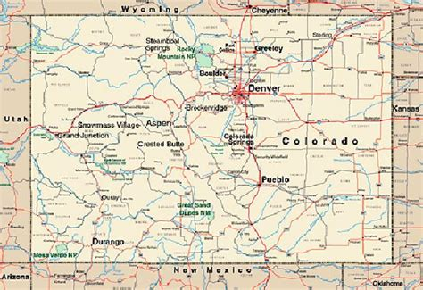 pennsylvania ipl2 stately knowledge facts about the map of colorado and surrounding states my blog