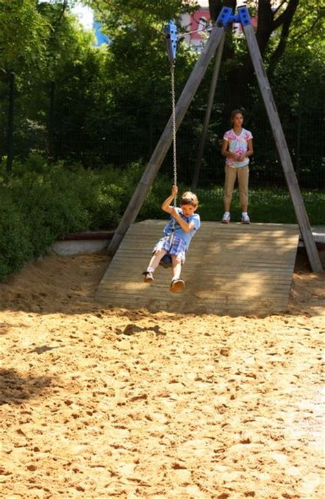 backyard zip line without trees 25 great ideas about zip line backyard on pinterest