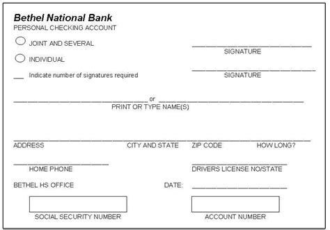 bank signature card template all worksheets 187 practice writing checks worksheets