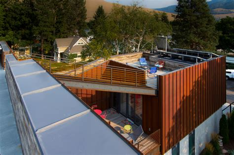 sustainable house integrates a roof terrace by chris pardo design elemental architecture