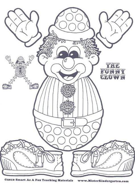 clown template preschool 9 best images of circus theme preschool printable
