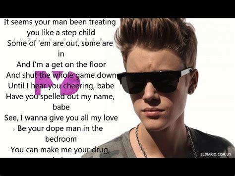best justin bieber quotes from lyrics justin bieber ft r kelly pyd lyrics youtube