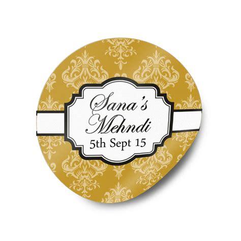Mehndi Stickers
