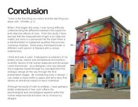 psychological effects of color independent study the psychology of color in an interior