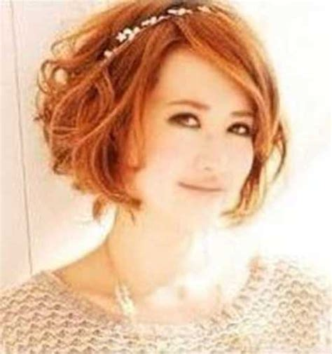hairstyles red hair round face 10 short wavy hairstyles for round faces short