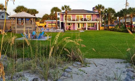 St Augustine Cottage Rentals by Shack Oceanfront Vacation Rental St Augustine Fl