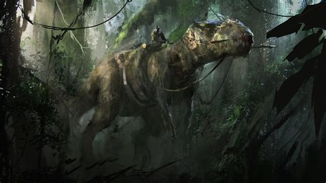 dinosaurs fantasy art artwork wallpapers hd desktop