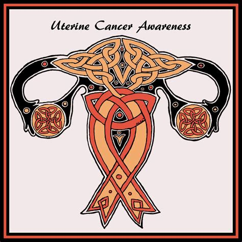 uterine cancer color uterine cancer awareness by opalpeony on deviantart