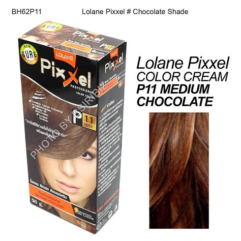 Lolane White Care Creme lolane pixxel hair permanent dye color various colors chocolate shade ebay