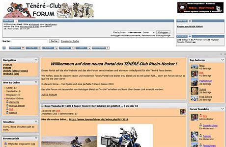 Yamaha Motorrad Club by Yamaha T 233 N 233 R 233 Tenere De Tourenfahrer Online
