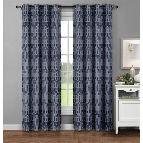 65 inch curtains window elements semi opaque juneau printed cotton extra