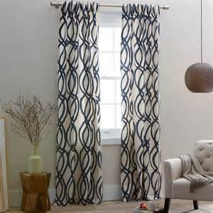 Navy Blue Patterned Curtains Navy Blue Patterned Curtains Myideasbedroom