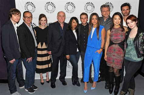 clark gregg brother andrew paleyfest 2014 agents of s h i e l d
