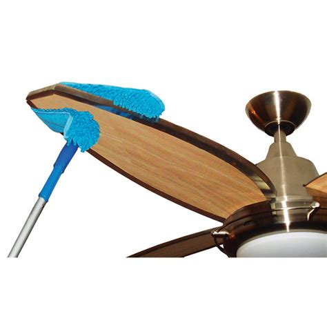 connect clean microfiber ceiling fan duster the