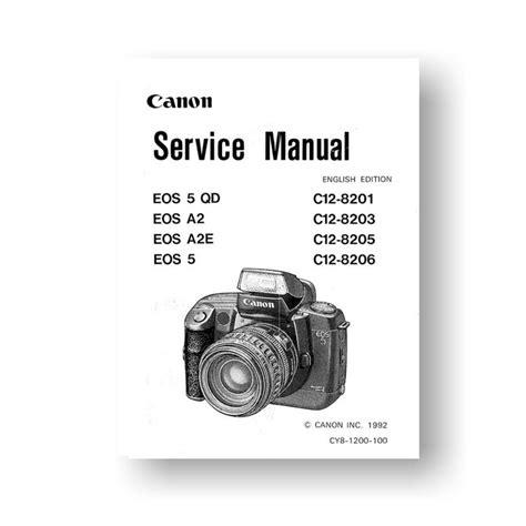 canon eos list canon eos a2 a2e service manual parts list