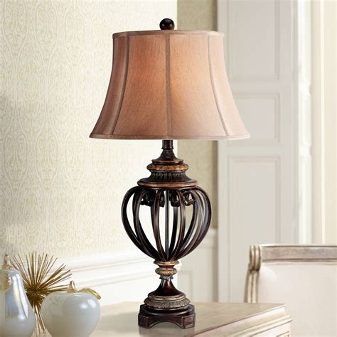 tall table lamps large designs  inches high   lamps