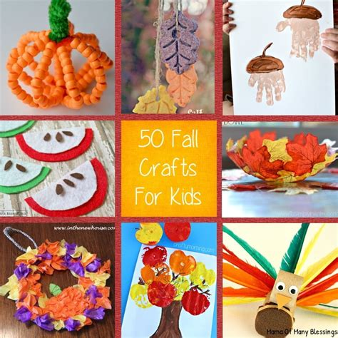 kid fall craft ideas craft ideas for fall that are awesome and easy