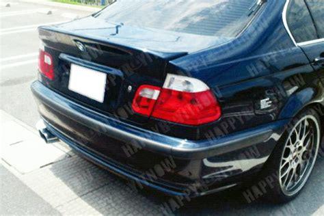 bmw e46 sedan csl trunk la 01 06 painted bmw e46 sedan 4d csl type ducktail trunk