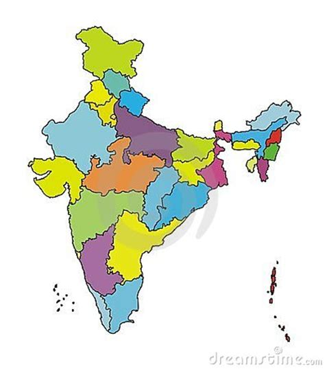 India Outline Map Coloured by Map Of India More Authentic Royalty Free Stock Photography Image 4884257