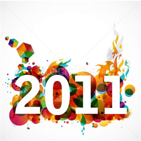 graphic design for new year new year 2011 funky graphic design stock photo 169 radovan