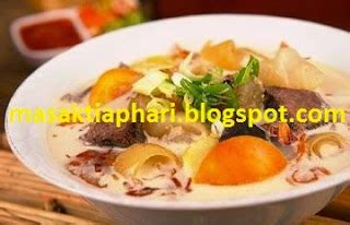 membuat soto ayam rumahan resep soto daging khas betawi enak dan gurih kumpulan