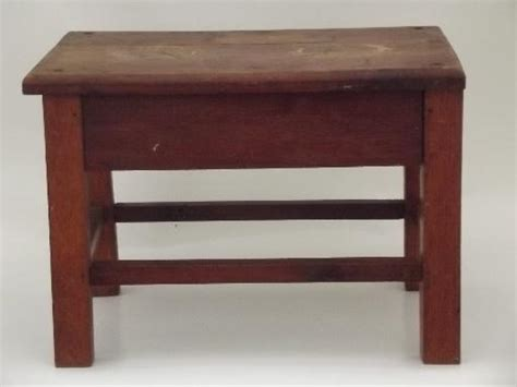 desk with bench seat vintage solid oak stool old bench seat for desk or child