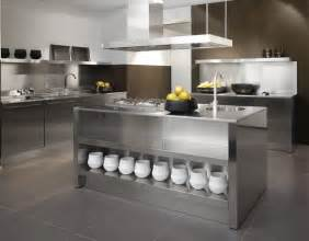 Kitchen Stainless Steel Cabinets Stainless Steel Kitchen Designs