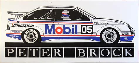 mobil 1 racing brock 05 mobil 1 racing memorabilia sticker