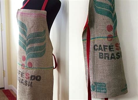 Bobby Valentino Marks A Special Occasion With Apple by Apron 12 Creative Ways To Repurpose Coffee Sacks